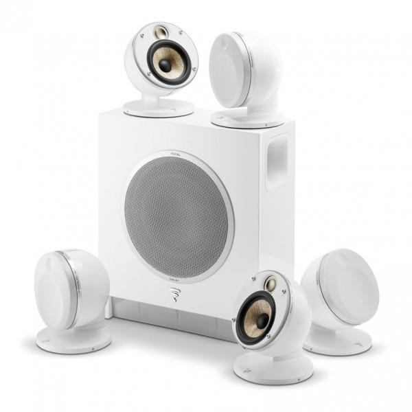 Комплект акустических систем для домашнего кинозала Focal Dome 5.1 Flax & Sub Air