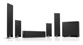 Комплект акустических систем для домашнего кинозала KEF T205