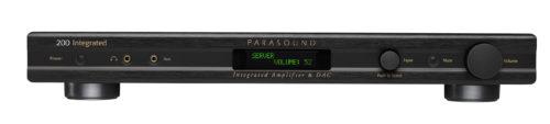 Интегрированный стерео усилитель с USB ЦАП Parasound 200 Integrated