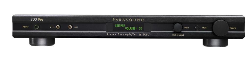 Стереоусилитель предварительный с USB ЦАП Parasound 200 Pre