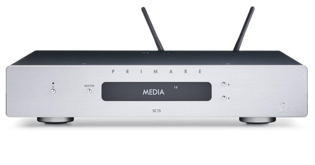 Стереоусилитель предварительный с USB ЦАП/медиаплеер Primare SC15 PRISMA