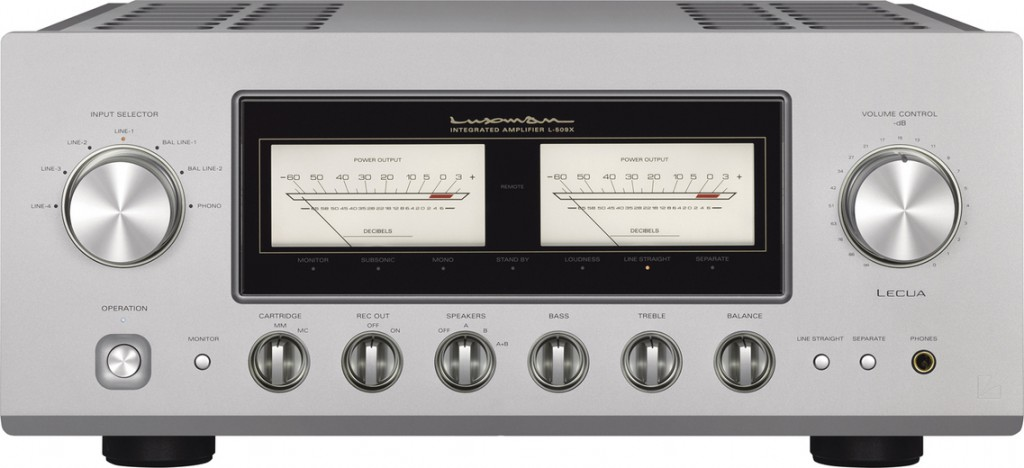 Интегрированный стерео усилитель Luxman L509X