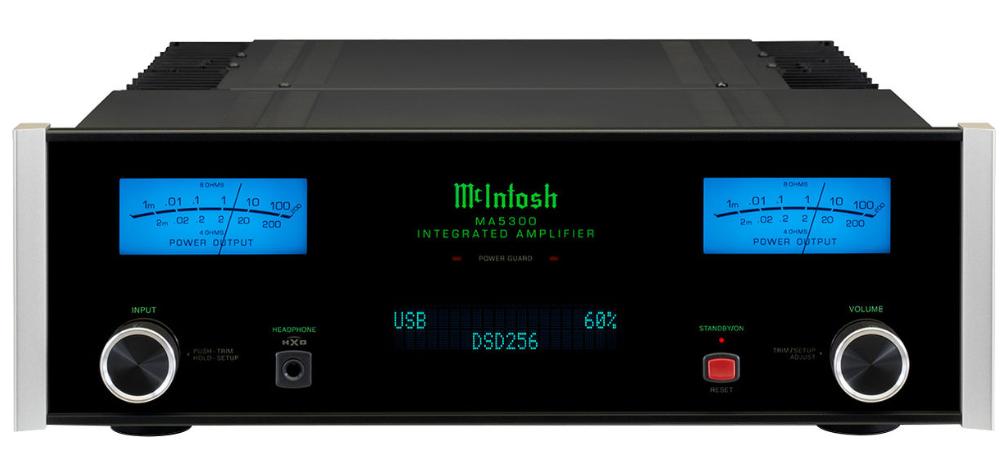 Интегрированный стерео усилитель с USB ЦАП McIntosh MA5300