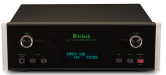Стереоусилитель предварительный с USB ЦАП McIntosh C47
