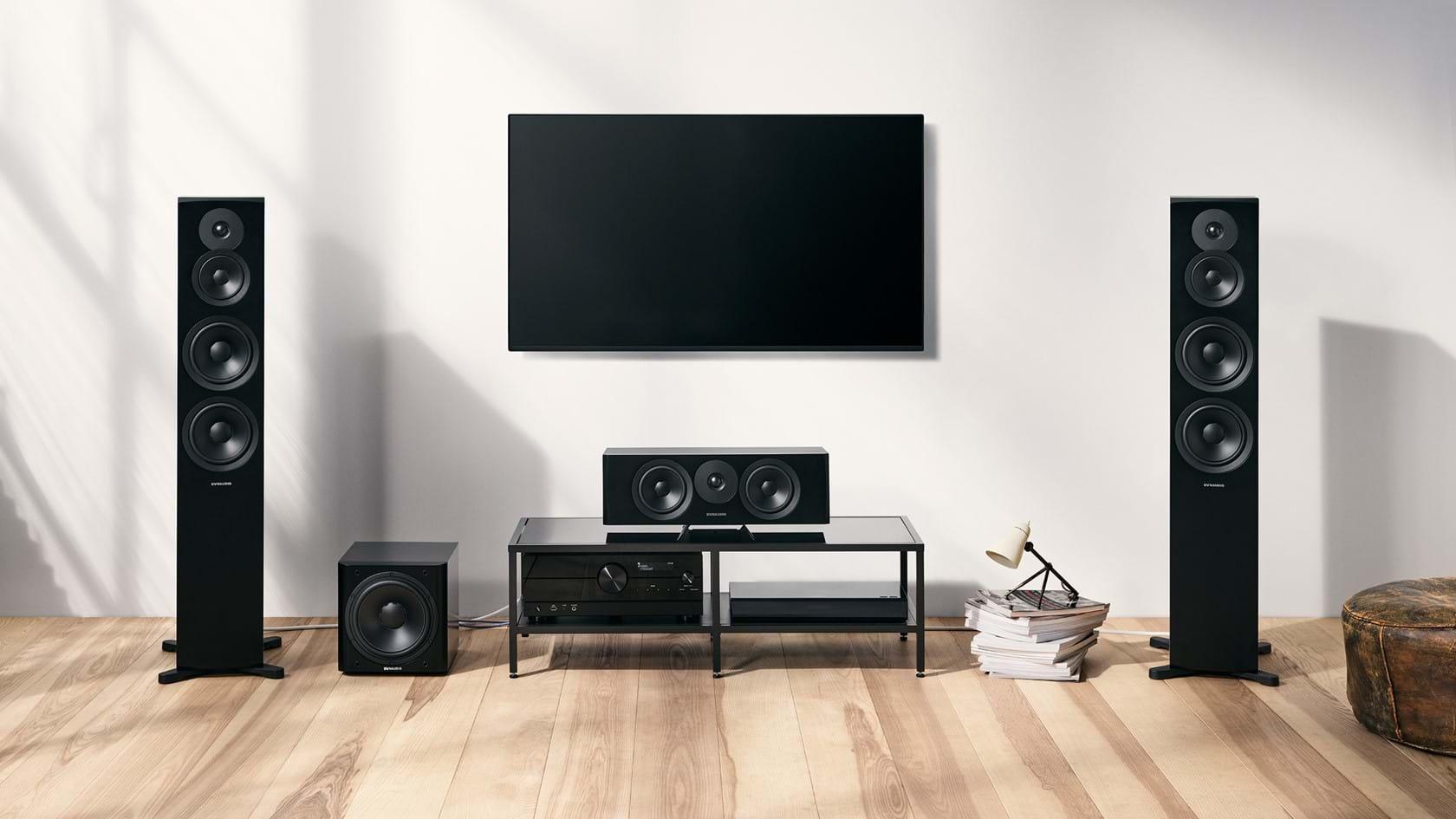 Dynaudio выпустила обновленную серию акустических систем Emit