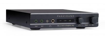 Цифро-аналоговый преобразователь/усилитель для наушников Parasound Zdac v.2