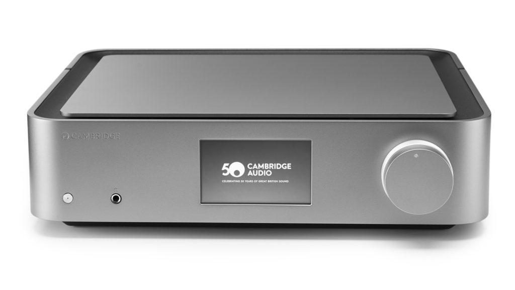 Стереоусилитель предварительный с USB ЦАП/медиаплеер Cambridge Audio Edge NQ