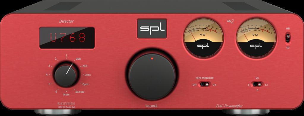 Стереоусилитель предварительный с USB ЦАП SPL Director Mk2