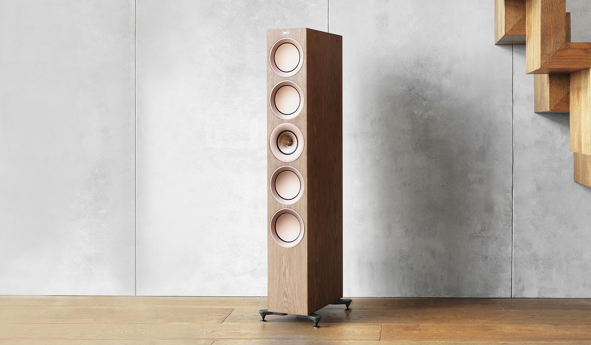 На прошедшей в американском городе Сан-Диего выставке CEDIA Expo компания KEF представила новое поколение акустических систем R Series