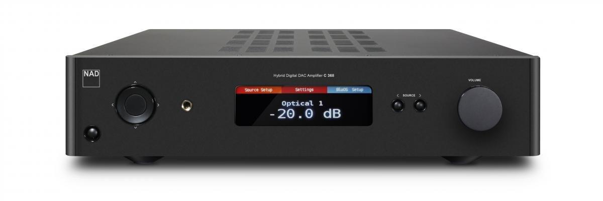 Новый гибридный интегрированный усилитель с ЦАП - NAD С368